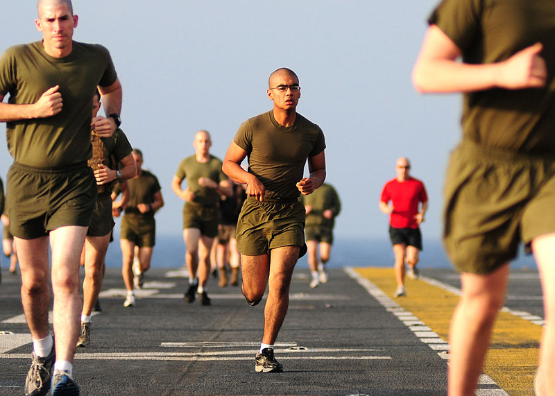 Marine Corps PFT