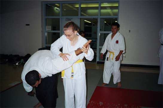 Learning the arm bar