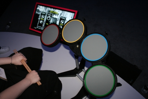 Playing Rock Band drums on a PC