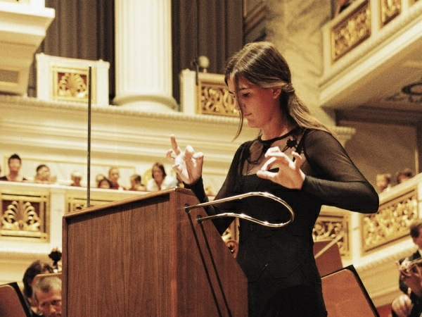 Playing Theremin Instrument