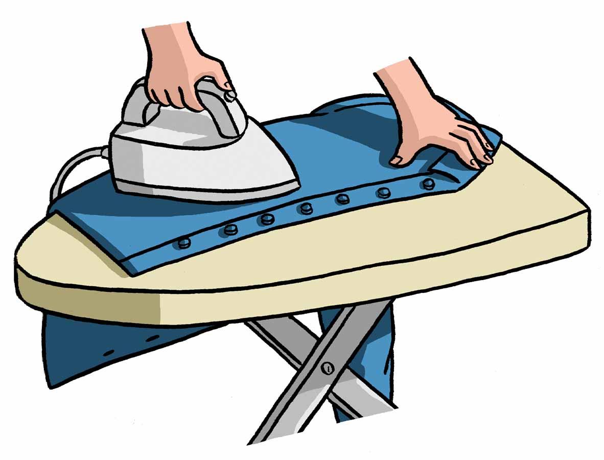Ironing a Cotton Shirt