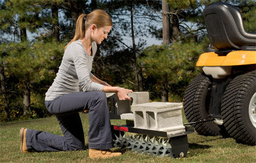 Aerate your lawn easily