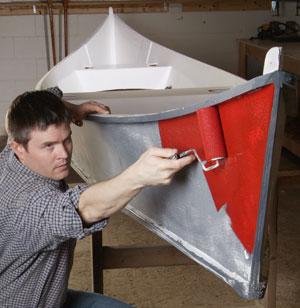 Refinishing a Fiberglass Canoe
