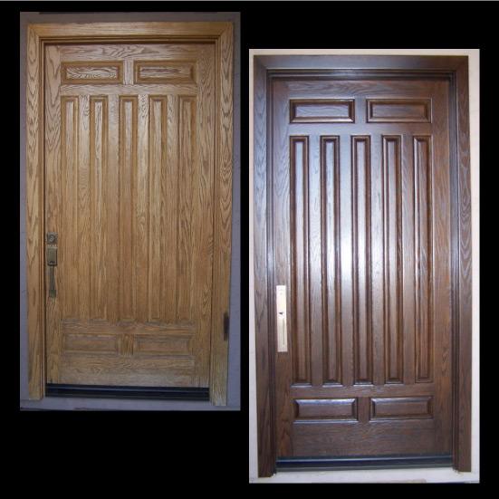 refinishing exterior wood doors refinishing exterior