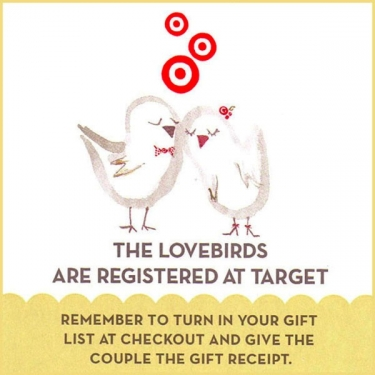 how to register for wedding gifts at target