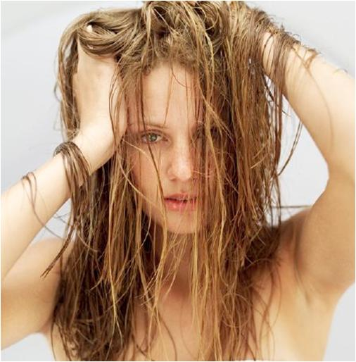 Remove Sediment from Hair