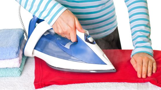 Remove Shine from Iron on Clothes