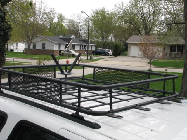 Roof Rack on a Ford Explorer