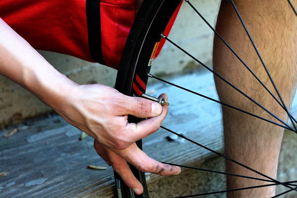 Removing Valve Stem on a Bike