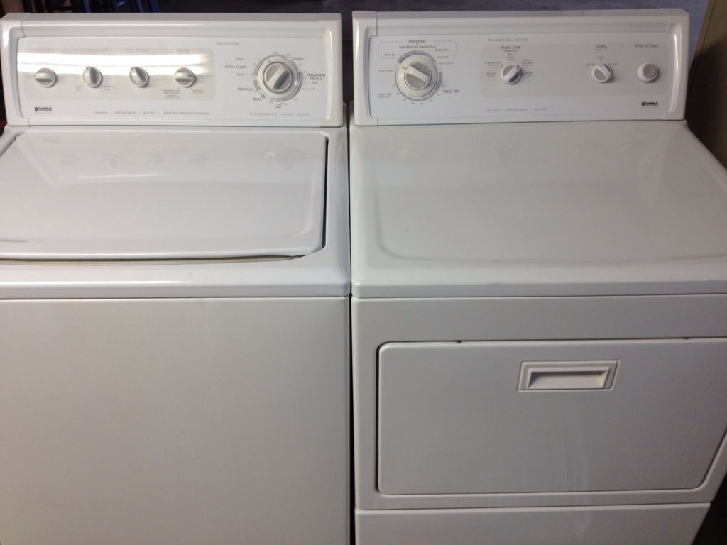 Remove the Back Panel on a Kenmore Elite Washing Machine