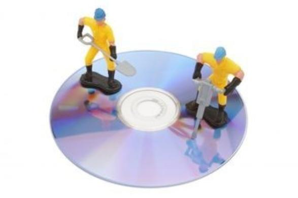 Repair Scratched CD, DVD, or Game Disc