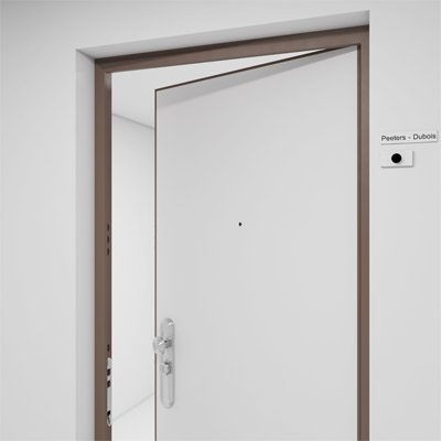 Changing door frame