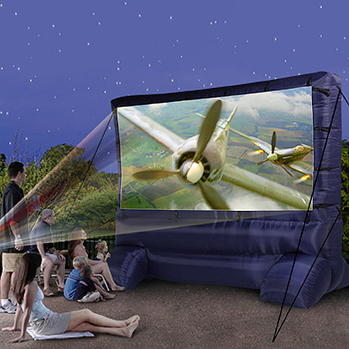How to Set Up an Outdoor Inflatable Movie Screen