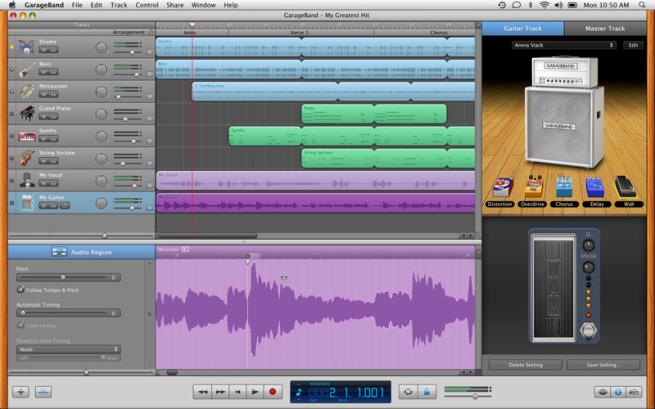 How to Set a Tempo in GarageBand