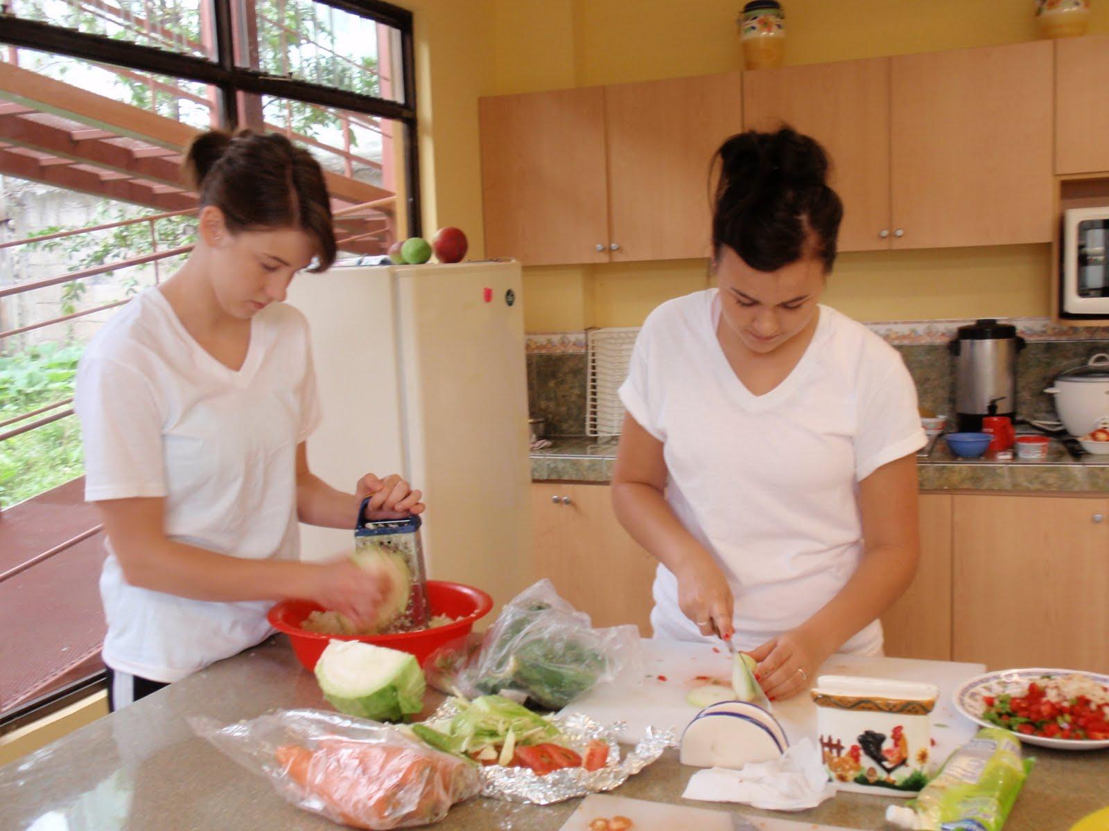 Ladies cooking