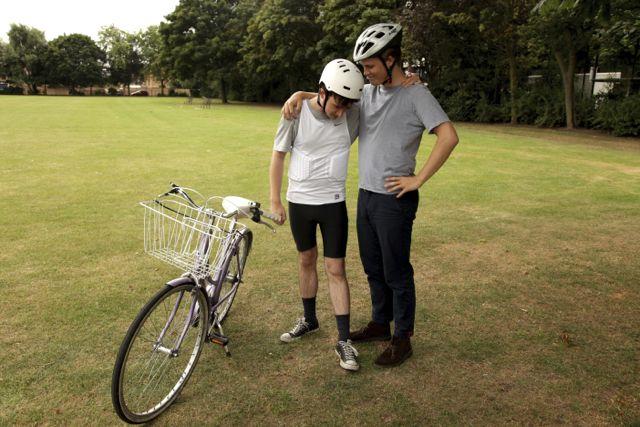 teaching an adult to ride a bike