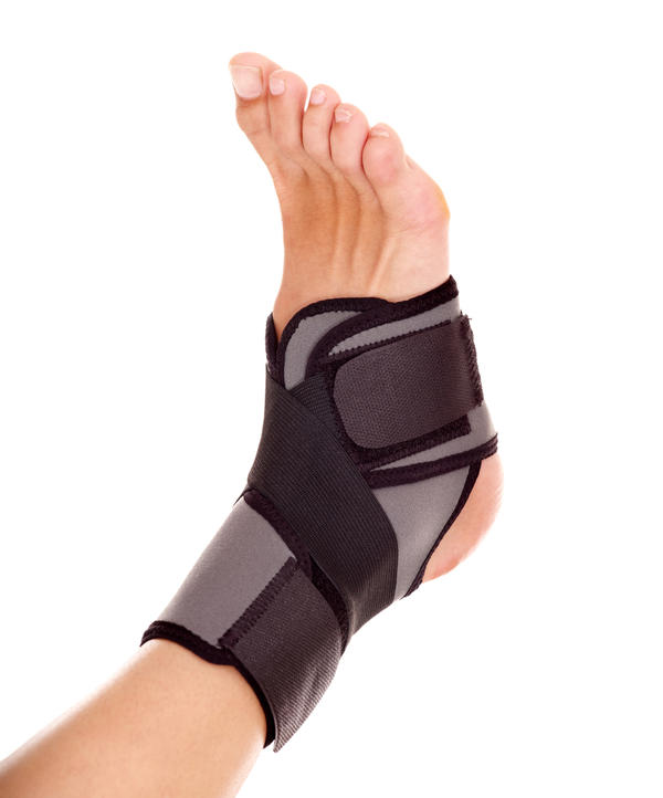 How to Determine If an Ankle Is Sprained, Broken or Out of Joint