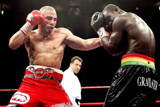 Throw a Left Hook in Boxing