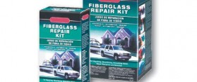Fiberglass Cloth & Resin Car Repair Kit