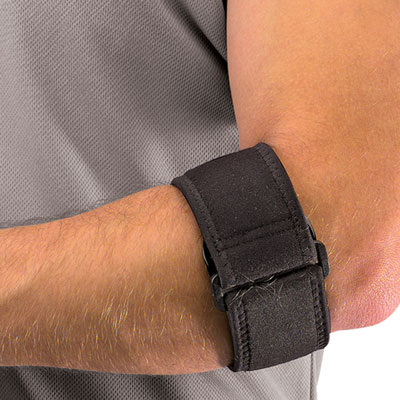 tennis elbow strap instructions