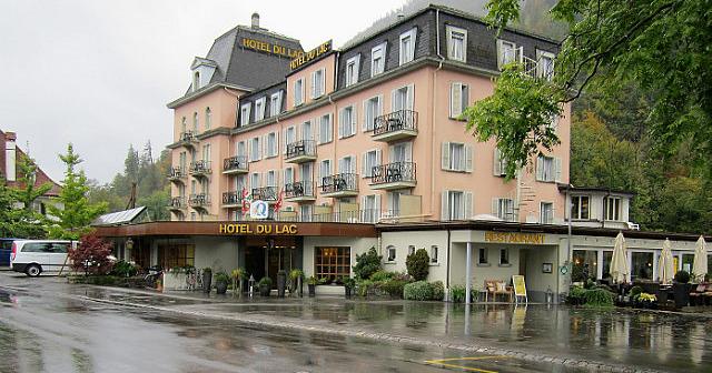 Hotel Du Lac in Interlaken, Switzerland