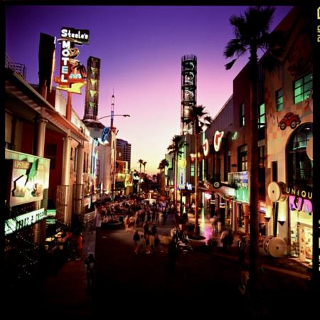 Universal CityWalk in Hollywood