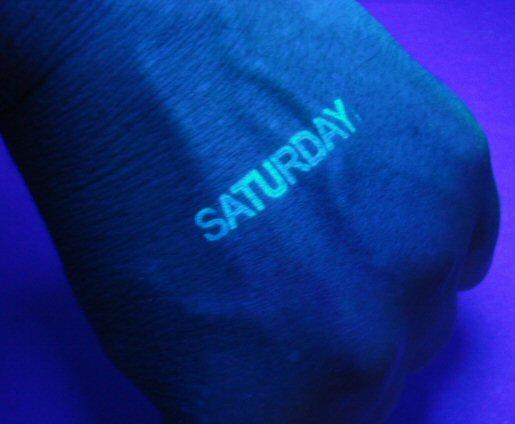 Nightclub Ink Stamp Off