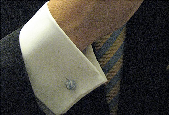 How to wear french cuff links for Dress shirt for cufflinks