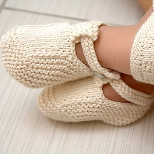 How to Weave and Sew Baby Booties
