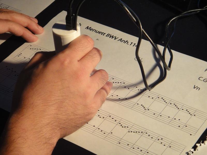 Sheet Music on a Computer
