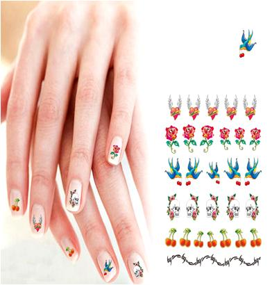 Nail Art Decals for Summer Manicure