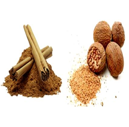 Nutmeg-Cinnamon Paste to Treat Blackheads