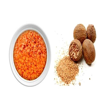 Nutmeg-Lentil Scrub to Treat Blackheads