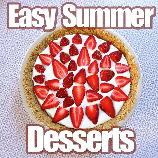 names of Simple Summer Dessert