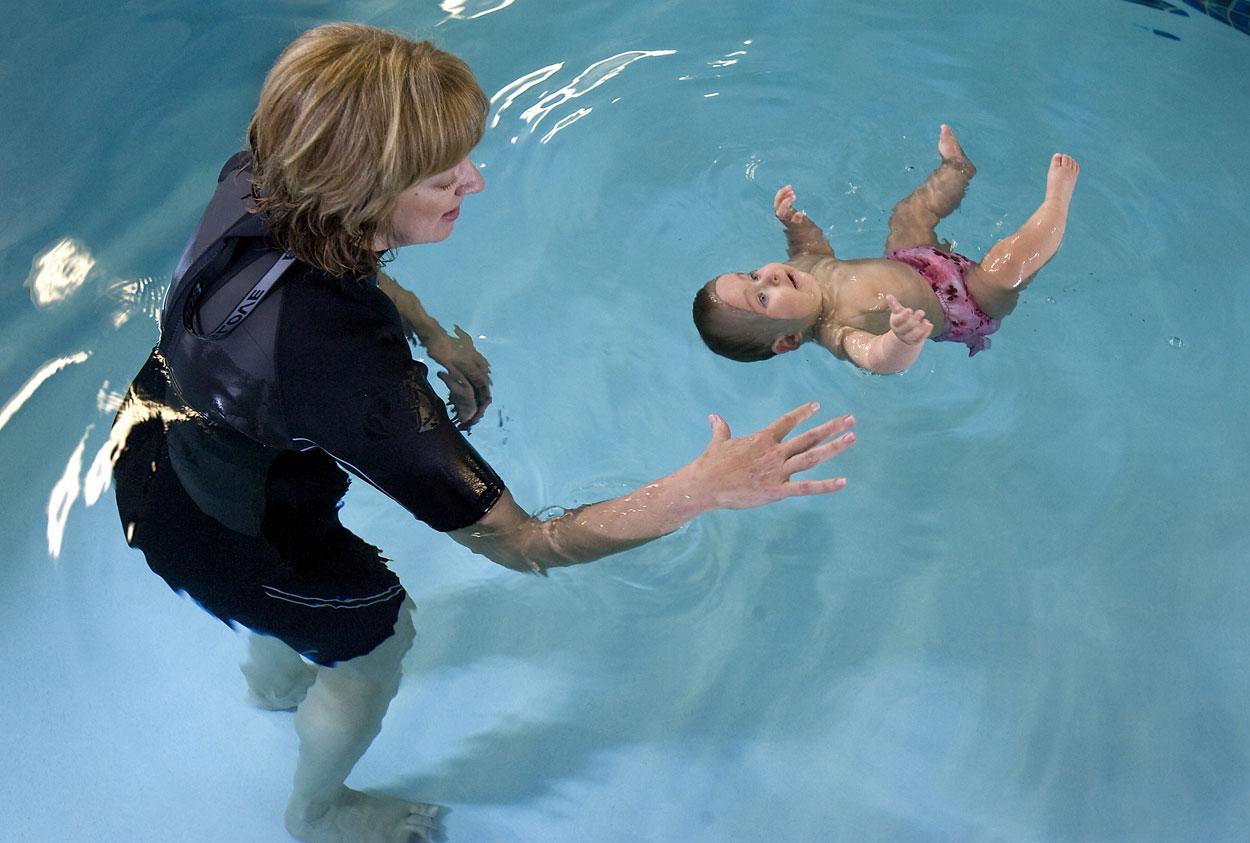 Babies Wear To Swim