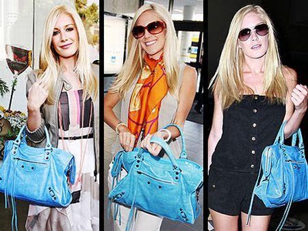 Ladies carrying Balenciaga City Bag
