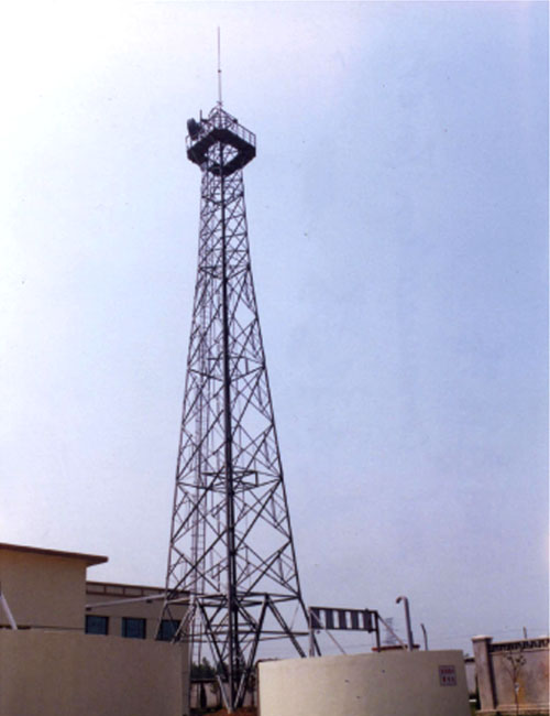 A telecommunication tower