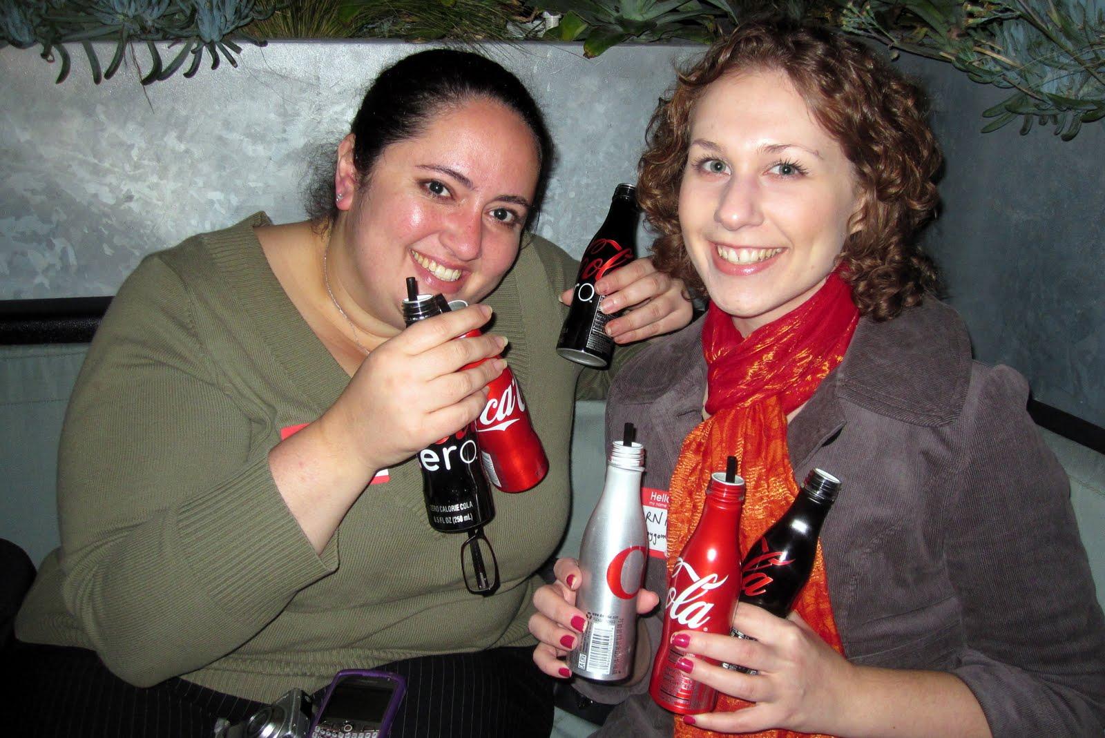 Ladies with cokes