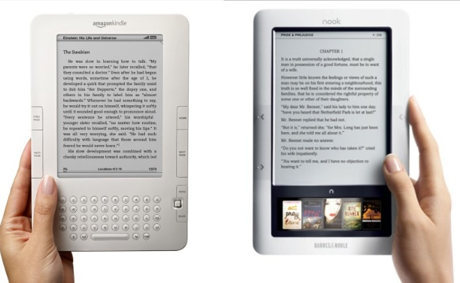 Difference Between Kindle and Nook