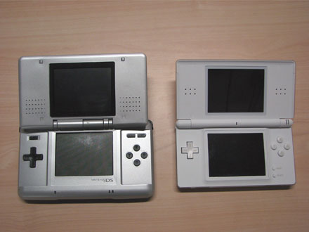 difference between nintendo ds and ds lite. Black Bedroom Furniture Sets. Home Design Ideas