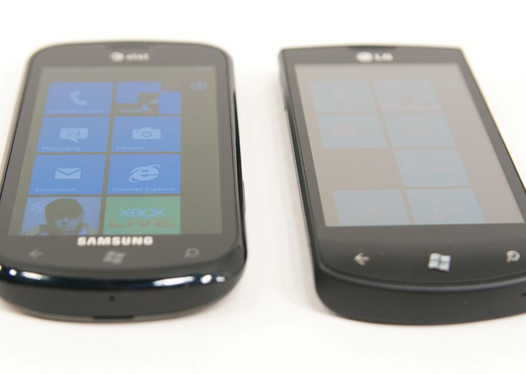 Difference Between Samsung Focus and LG Optimus 7Q