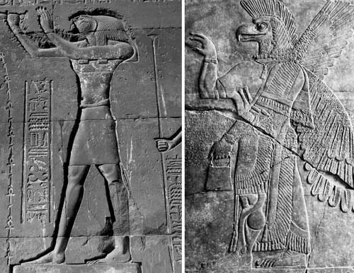 Egyptians and sumerians