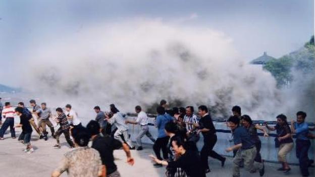 Tsunami and Hurricane