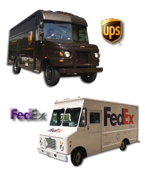 UPS and FedEx