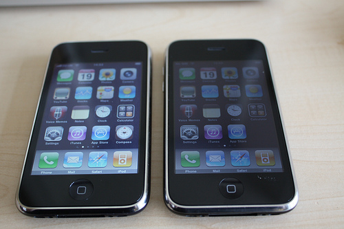 iPhone 3G and 3Gs