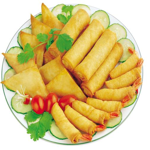Egg Roll and Spring Roll