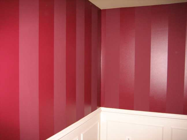 Difference between gloss and satin for Matte finish paint for walls