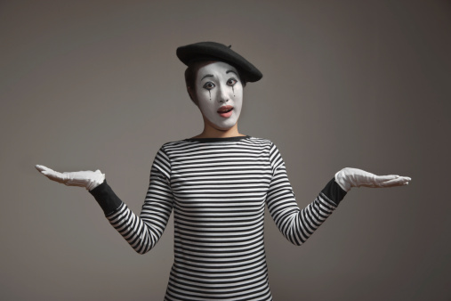 Know the Difference between Mime and Pantomime