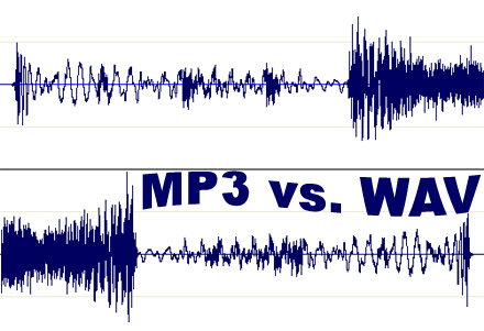 Difference between Mp3 and Wav