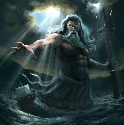 differences between athena and poseidon relationship
